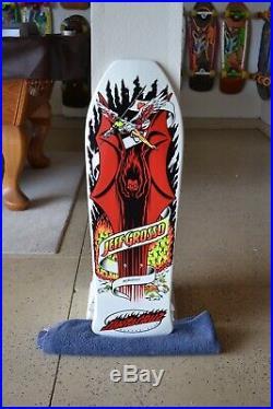 Santa Cruz Jeff Grosso OG Demon Skateboard Deck Old School