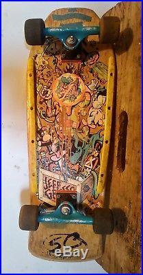 Santa Cruz Jeff Grosso Toy Box Natural Tracker Trucks Skateboard Hosoi Wheels