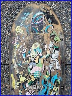 Santa Cruz Jeff Grosso Toy Box OG Vintage Skateboard Deck