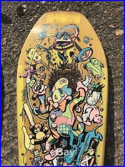 Santa Cruz Jeff Grosso Toybox Vintage Skateboard