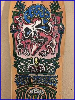 Santa Cruz Jeff Hedges Skateboard Vintage OG