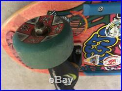 Santa Cruz Jeff Hedges vintage skateboard