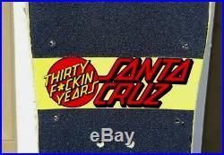 Santa Cruz Jeff Kendall 30 F'in Years! Skateboard deck Rare Jim Phillips Neptune