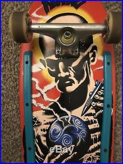 Santa Cruz Jeff Kendall Atom Man Skateboard Complete 30 Fn Years Vintage Rare