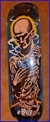 Santa Cruz Jeff Kendall Atom man skateboard deck nhs creature jessee grabke
