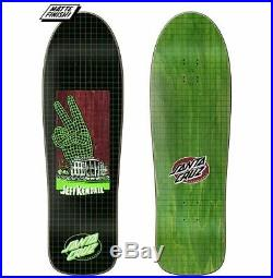 Santa Cruz Jeff Kendall Atomic Peace End of World Preissue Skateboard Deck
