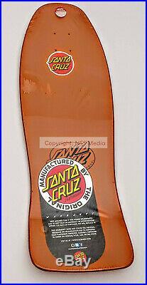 Santa Cruz Jeff Kendall End of World Reissue Skateboard Deck Dark Orange Rare
