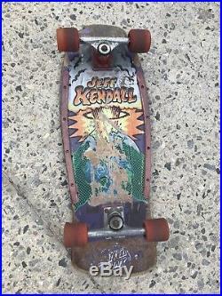 Santa Cruz Jeff Kendall End of the World Skateboard ORIGINAL Deck Complete 1986