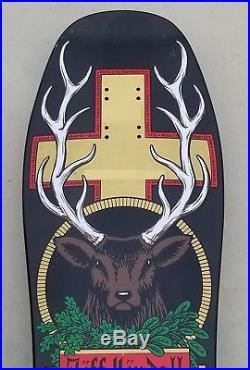 Santa Cruz Jeff Kendall Jaegermeister deer reissue skateboard kevin marburg 1990