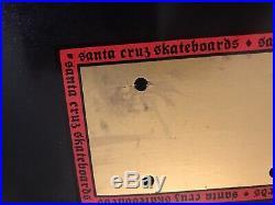 Santa Cruz Jeff Kendall Skateboard Deck Jagermeister