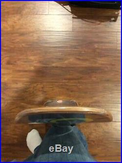 Santa Cruz Jeff Kendall Werewolf 1990 NOS Skateboard Deck Vintage in shrink wrap