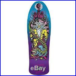 Santa Cruz Jesse Neptune Purple Fade Reissue Skateboard Deck