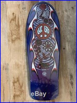 Santa Cruz John Lucero Street Thing Skate Board Deck From 1988 Still In Plastic