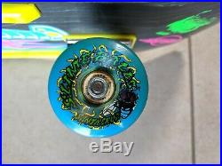 Santa Cruz Keith Meek Neon Slasher Reissue Complete Skateboard