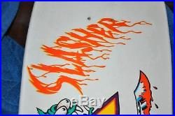 Santa Cruz Keith Meek Slasher Anniversary Deck Thirty to life Model, 1978-2008