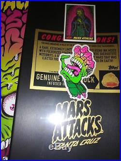 Santa Cruz Maid of Mars Skateboard Deck Mars Attacks Limited Edition