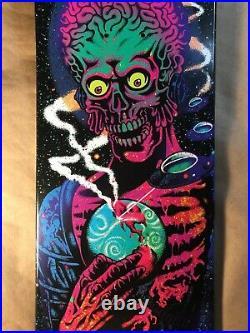Santa Cruz Mars Attacks Atomic Galaxy Blind Bag Skateboard Deck Jeff Kendall