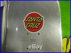Santa Cruz Mars Attacks Divine Heritage Deck Skateboard NOS in Shrink Wrap