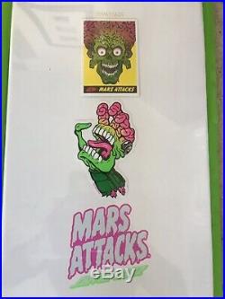 Santa Cruz Mars Attacks, Glow in the Dark Skateboard Deck # 6