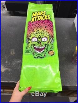 Santa Cruz / Mars Attacks Mystery Blind Bag Skateboard Deck GPK Rare LTD