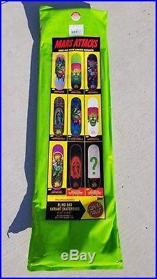 Santa Cruz Mars Attacks Mystery Blind Bag Unopened Skateboard