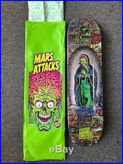 Santa Cruz Mars Attacks Skateboard Deck DIVINE HERITAGE RARE LIMITED