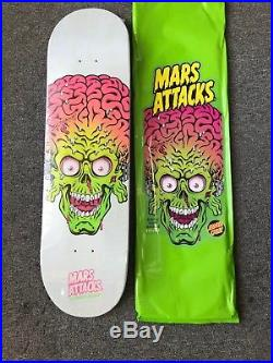 Santa Cruz Mars Attacks Skateboard Deck GLOWING FEAR RARE LIMITED