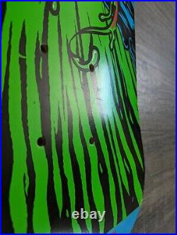 Santa Cruz Marvel Comics Collaboration Skateboard Deck Venom NOS