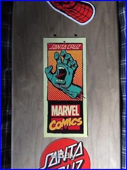Santa Cruz Marvel Spiderman Hand Skateboard Deck (8 x 31.6)