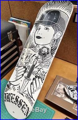 Santa Cruz Mike Giant Eric Dressen Skateboard Deck
