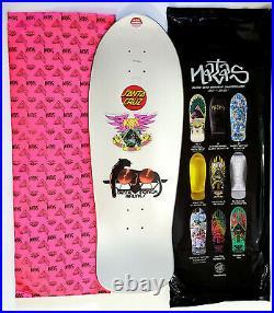 Santa Cruz Monica Airlines Natas Blind Bag Skateboard Deck Prismatic Foil
