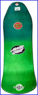 Santa Cruz Mummy Screaming Hand 10 Preissue Shaped Skateboard Deck Jim Phillips