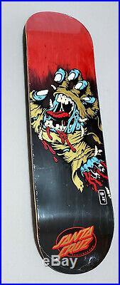 Santa Cruz Mummy Screaming Hand Wide Tip 8.25 Skateboard Deck Jim Phillips