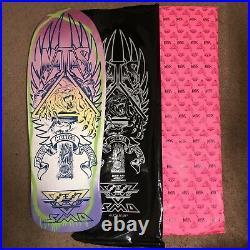 Santa Cruz Natas Blind Bag Skateboard Deck HAND PAINTED 15/50