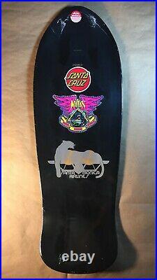 Santa Cruz Natas Kaupas Panther Reissue Gold Metallic Blind Bag Skateboard Deck