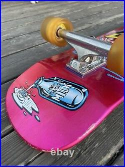 Santa Cruz Natas Kitten Deck Complete Skateboard Independent Trucks