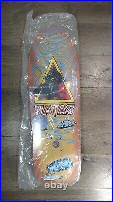 Santa Cruz Natas Kitten Reissue Skateboard Deck SMA 9.89 x 29.82 15.3 WB