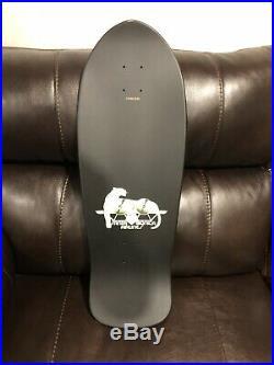 Santa Cruz Natas Panther 3 Glow In Dark Skateboard Deck Reissue Roskopp Kendall
