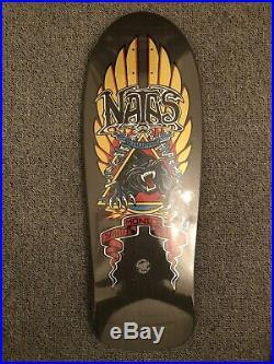 Santa Cruz Natas Panther Metallic Reissue Skateboard Deck Brand New 10.538 inch