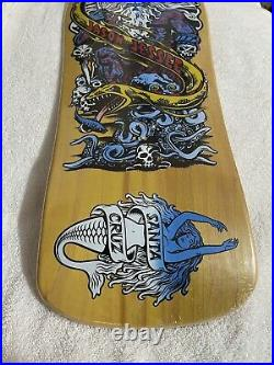 Santa Cruz Neptune Jason Jessee Skateboard Deck Rare Reissue New In Shrink