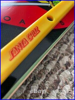 Santa Cruz Ninja Turtles Skateboard Highly Collectible Nos Santa Cruz Decals 31