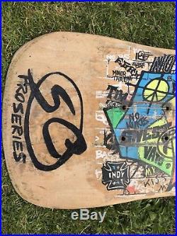 Santa Cruz OG Kendall Graffiti Skateboard Deck Vintage 80s