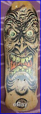 Santa Cruz OG Rob Roskopp Ugly Face Skateboard Old School Powell Peralta Vision