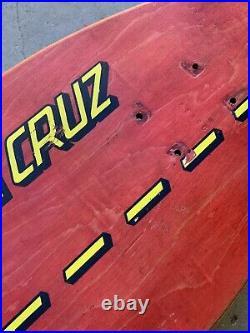 Santa Cruz Old School (Concave) Deck From Jamie Thomas 10.5 X 36.5