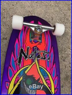 Santa Cruz Old School SMA Natas Evil Cat Reissue Complete Skateboard