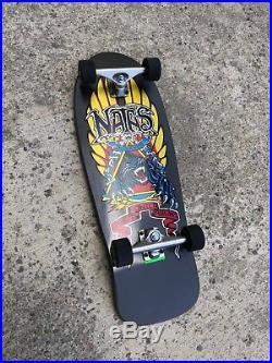 Santa Cruz Old School SMA Natas Kaupas Panther Reissue Complete Skateboard