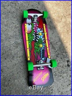 Santa Cruz Old School Slasher Complete Reissue Skateboard 10.1 X 31.1