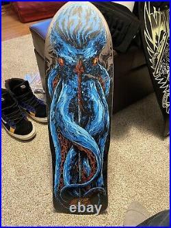 Santa Cruz Preissue Tom Asta Leviathan Skateboard Deck