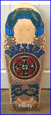Santa Cruz Reissue Eric Dressen Roses Skateboard Deck