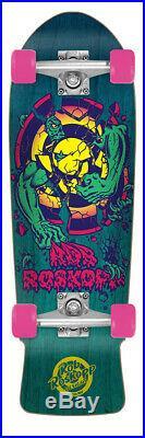 Santa Cruz Rob Roskopp 3 Old School Reissue 80's Cruiser Complete Skateboard